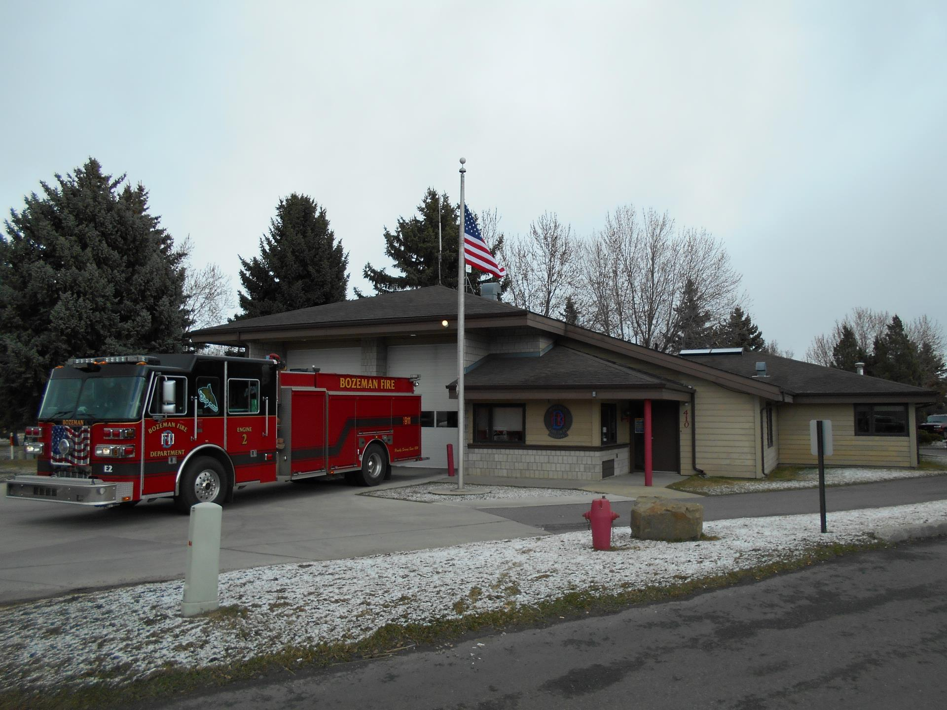 Fire Station 2 and Fire Engine 2