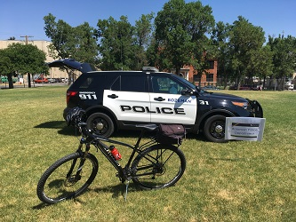 Police Car and Bike Thumbnail
