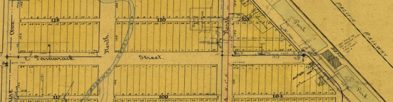 Historic Map Image of NE Bozeman