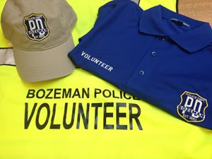 volunteers shirt and cap