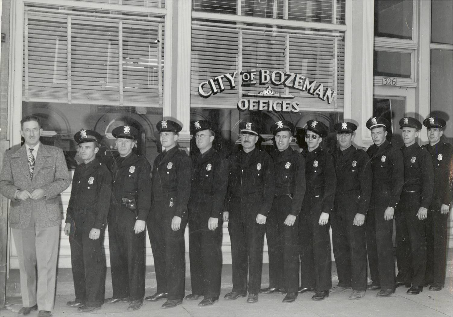 1947 PD officers