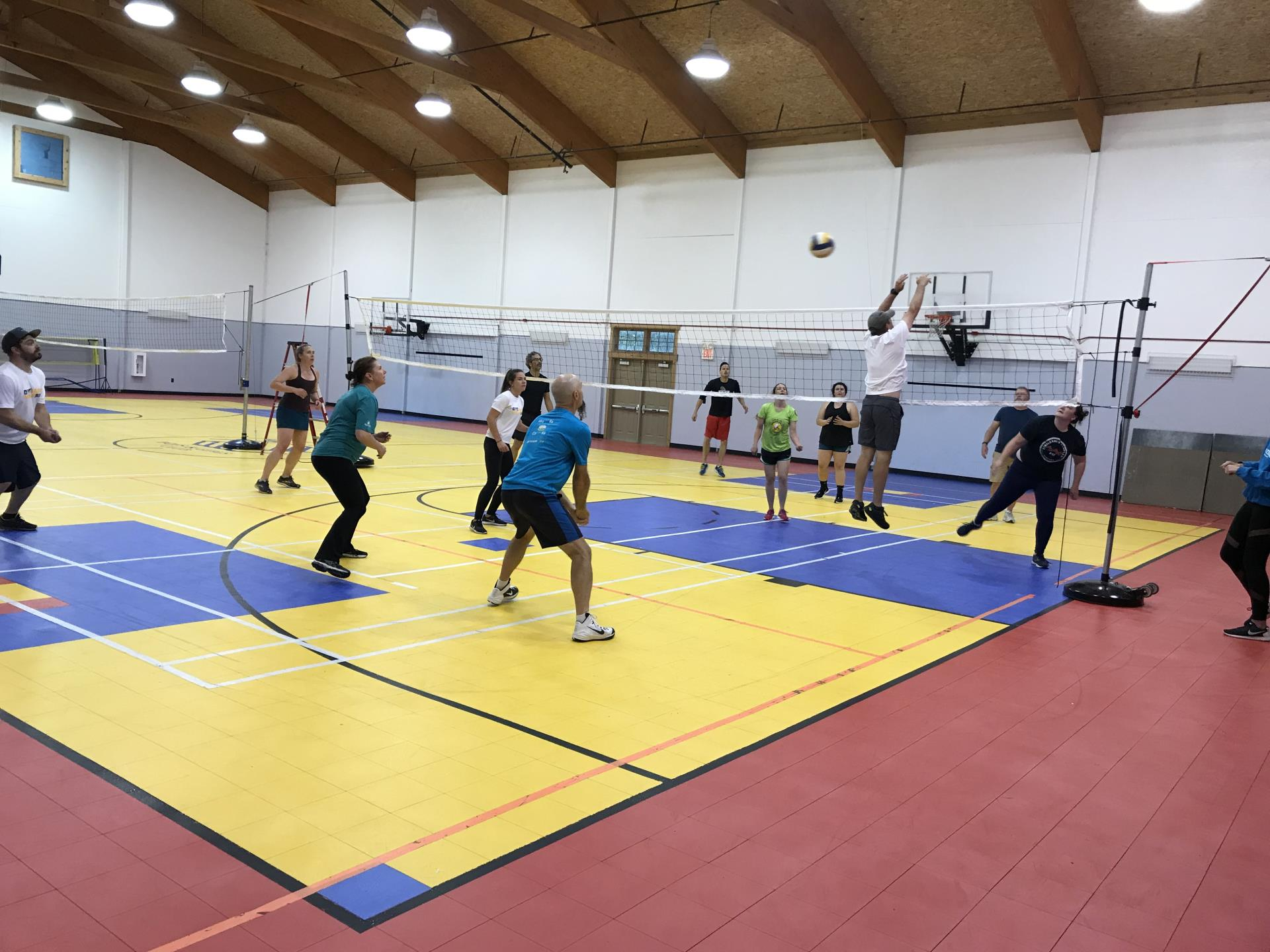 Story Mill Gymnasium Volleyball 2
